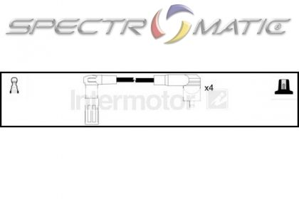 SPECTROMATIC LTD: 73655 ignition cable leads kit FIAT