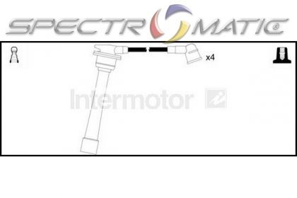SPECTROMATIC LTD: 73695 ignition cable leads kit HYUNDAI