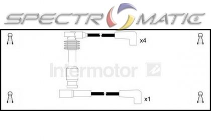 SPECTROMATIC LTD: 73700 ignition cable leads kit OPEL