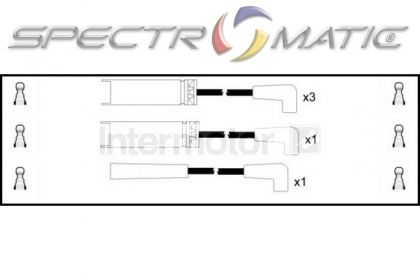 SPECTROMATIC LTD: 73756 ignition cable leads kit DAEWOO