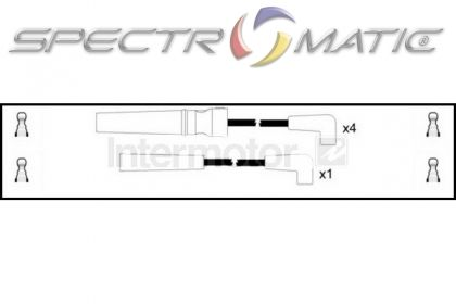 SPECTROMATIC LTD: 73757 ignition cable leads kit DAEWOO