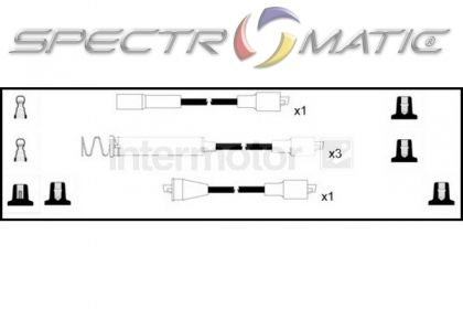 SPECTROMATIC LTD: 73791 ignition cable leads kit OPEL