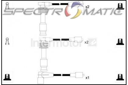 SPECTROMATIC LTD: 73867 ignition cable leads kit OPEL