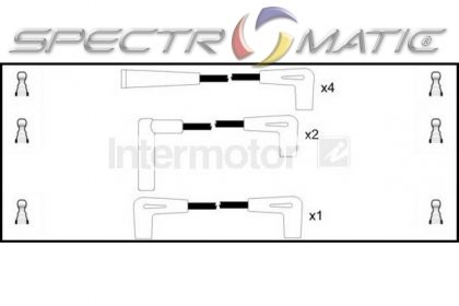 SPECTROMATIC LTD: 73911 ignition cable leads kit JEEP