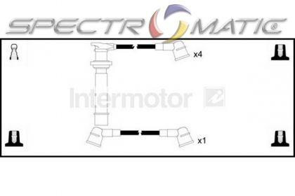 SPECTROMATIC LTD: 73995 ignition cable leads kit NISSAN