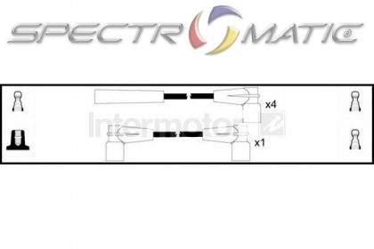 SPECTROMATIC LTD: 83067 ignition cable kit MERCEDES 190