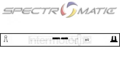 SPECTROMATIC LTD: 83076 ignition cable kit leads FORD