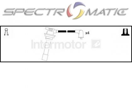 SPECTROMATIC LTD: 76264 ignition cable kit leads MAZDA 323
