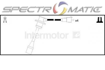 SPECTROMATIC LTD: 76107 ignition cable leads kit TOYOTA