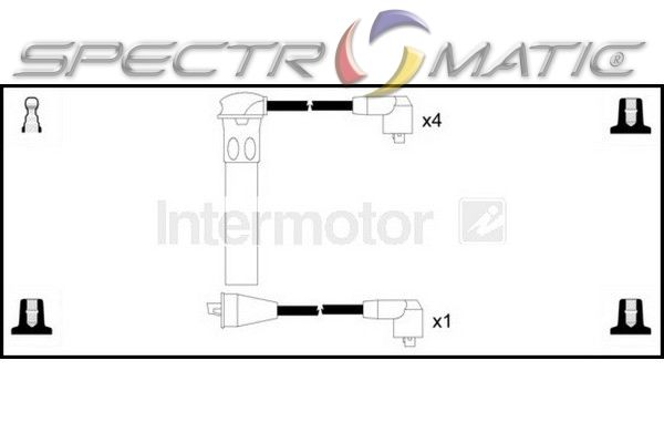 SPECTROMATIC LTD: 73060 ignition cable kit ROVER 100 200