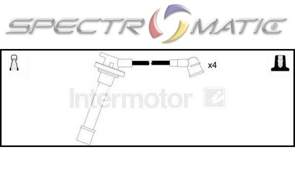 SPECTROMATIC LTD: 73061 ignition cable kit HONDA ACCORD