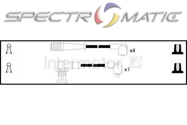 SPECTROMATIC LTD: 73331 ignition cable leads kit RENAULT
