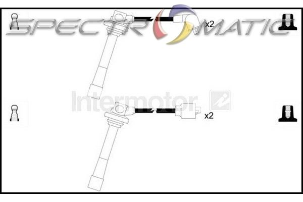 SPECTROMATIC LTD: 73376 ignition cable leads kit FORD