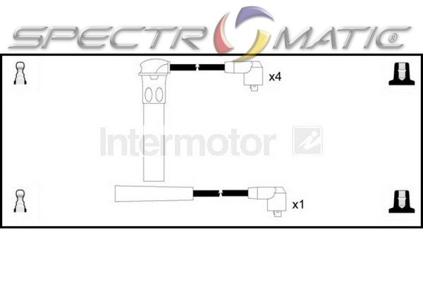 SPECTROMATIC LTD: 73393 ignition cable leads kit LOTUS
