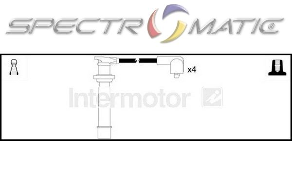 SPECTROMATIC LTD: 73434 ignition cable leads kit NISSAN