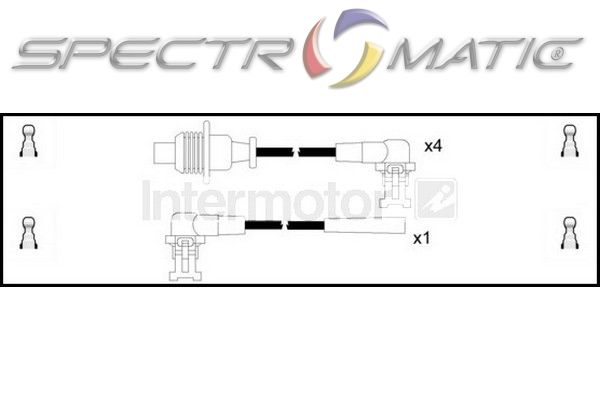 SPECTROMATIC LTD: 73481 ignition cable leads kit RENAULT