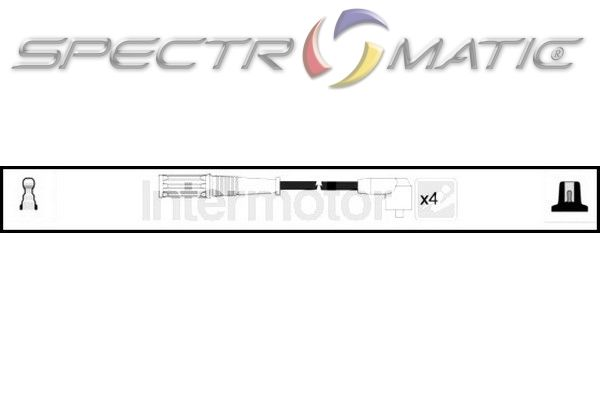 SPECTROMATIC LTD: 73527 ignition cable leads kit FIAT