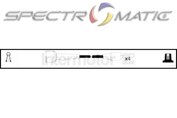 SPECTROMATIC LTD: 73578 ignition cable leads kit RENAULT