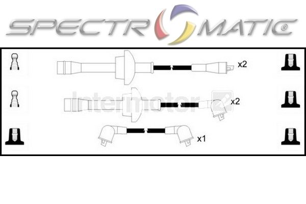 SPECTROMATIC LTD: 73603 ignition cable leads kit TOYOTA