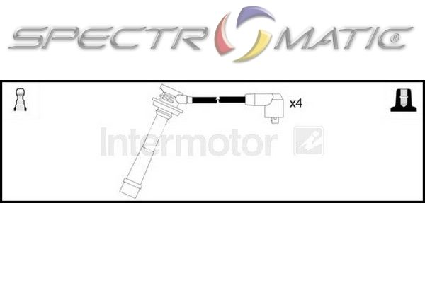 SPECTROMATIC LTD: 73608 ignition cable leads kit TOYOTA