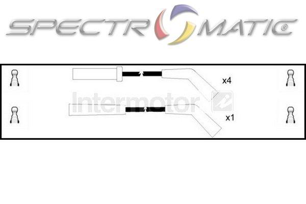 SPECTROMATIC LTD: 73631 ignition cable leads kit CITROEN