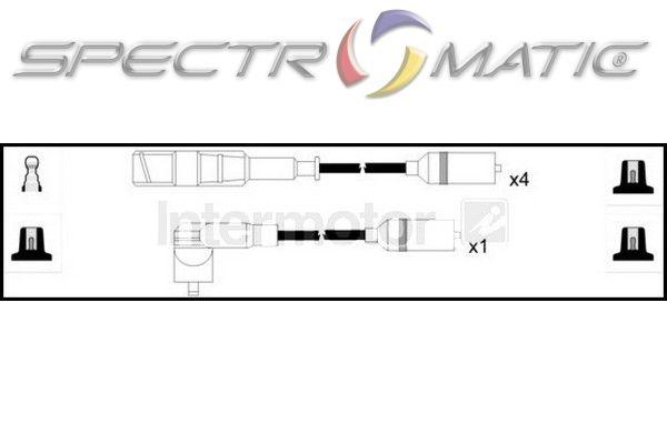 73653 ignition cable leads kit AUDI A4 PASSAT ADP