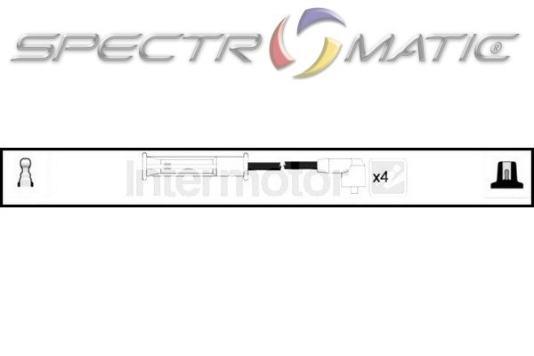 SPECTROMATIC LTD: 73706 ignition cable leads kit RENAULT