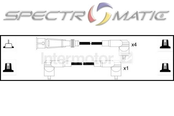 SPECTROMATIC LTD: 73783 ignition cable