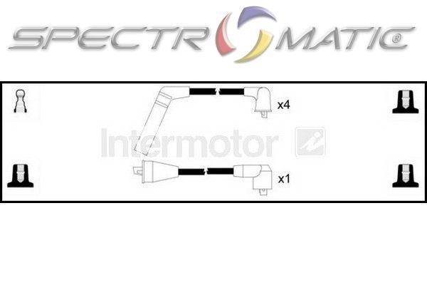 SPECTROMATIC LTD: 73784 ignition cable leads kit