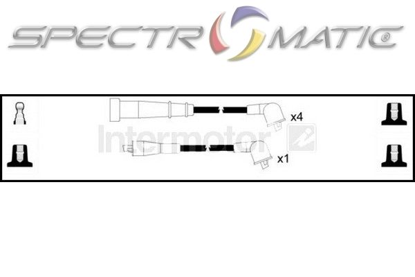 SPECTROMATIC LTD: 73794 ignition cable leads kit NISSAN