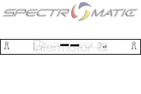 SPECTROMATIC LTD: 73803 ignition cable leads kit RENAULT