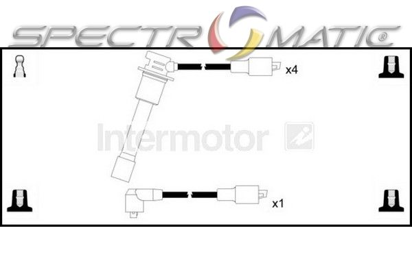 SPECTROMATIC LTD: 73818 ignition cable leads kit CITROEN