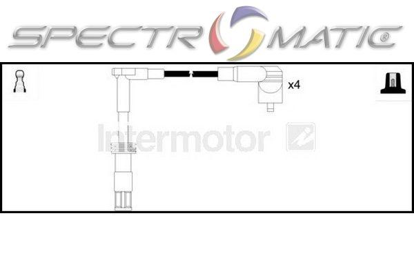 73879 ignition cable leads kit ALFA ROMEO 145 146 156 166