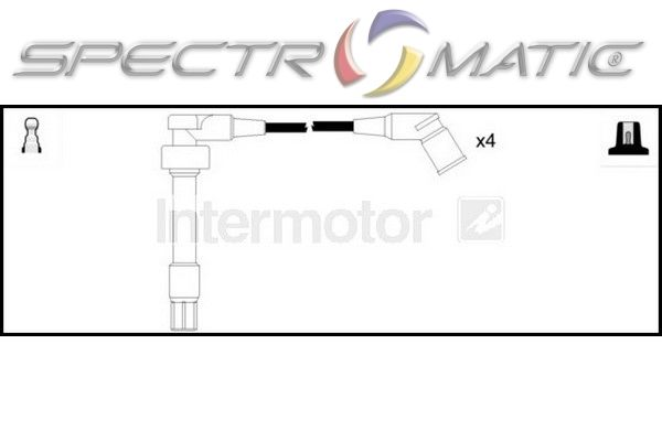 SPECTROMATIC LTD: 73891 ignition cable leads kit BMW 3 E36