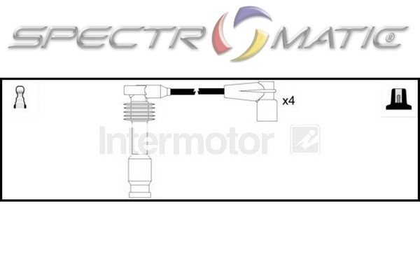 SPECTROMATIC LTD: 73961 ignition cable leads kit OPEL