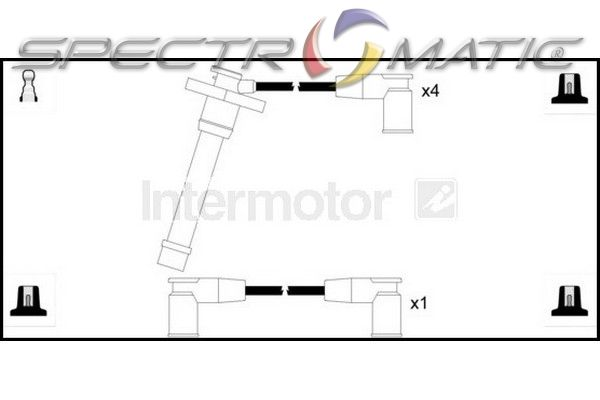 SPECTROMATIC LTD: 73962 ignition cable leads kit TOYOTA