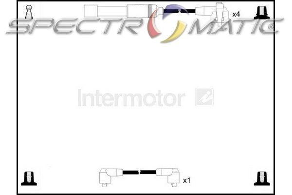 SPECTROMATIC LTD: 73985 ignition cable leads kit FORD