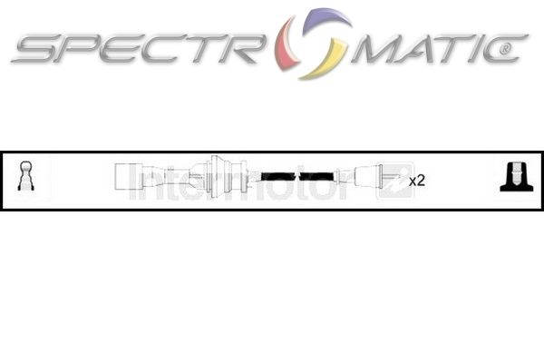 SPECTROMATIC LTD: 73987 ignition cable leads kit MAZDA 323