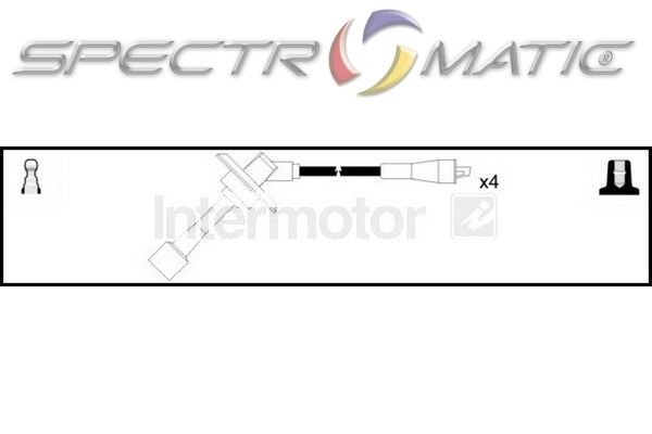 SPECTROMATIC LTD: 76047 ignition cable leads kit SUBARU