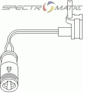 SPECTROMATIC LTD: 2115401717 brake sensor MAYBACH MERCEDES