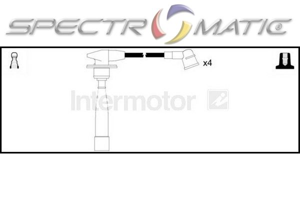 SPECTROMATIC LTD: 76141 ignition cable kit HYUNDAI ACCENT