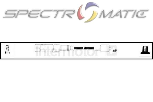 SPECTROMATIC LTD: 76186 ignition cable kit SMART CABRIO