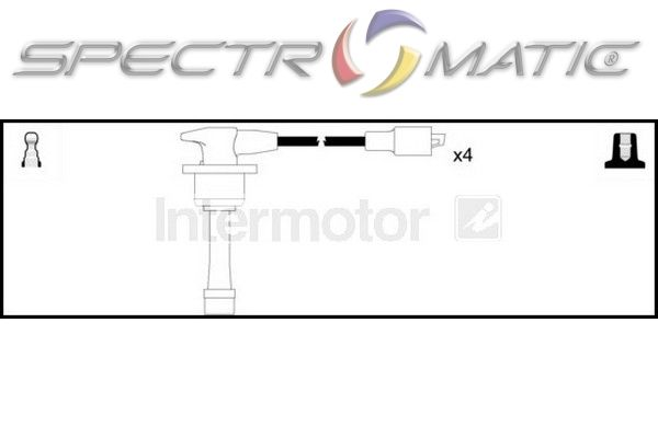 SPECTROMATIC LTD: 76207 ignition cable kit leads