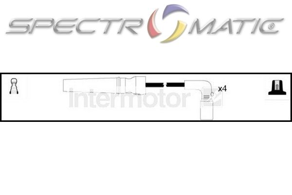 SPECTROMATIC LTD: 76290 ignition cable kit leads CHEVROLET