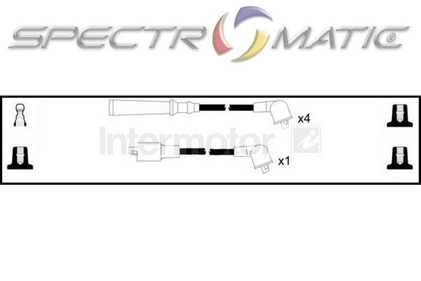 SPECTROMATIC LTD: 76036 ignition cable leads kit TOYOTA