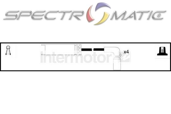 SPECTROMATIC LTD: 76053 ignition cable leads kit DAEWOO