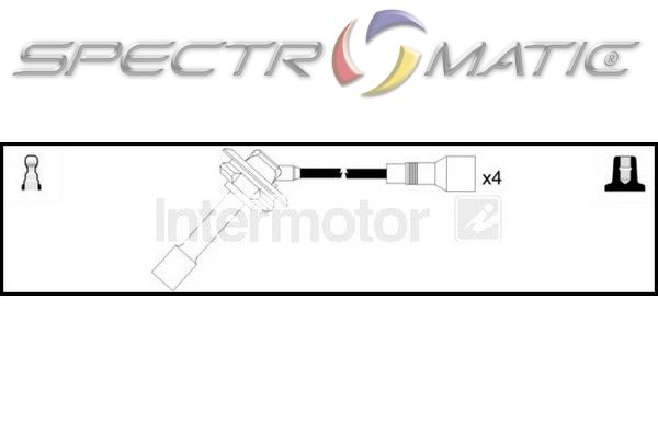 SPECTROMATIC LTD: 76273 ignition cable kit leads SUBARU