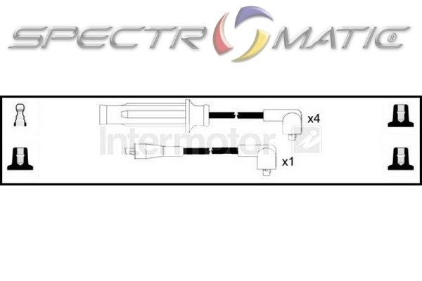 SPECTROMATIC LTD: 73710 ignition cable kit ROVER 400 2.0