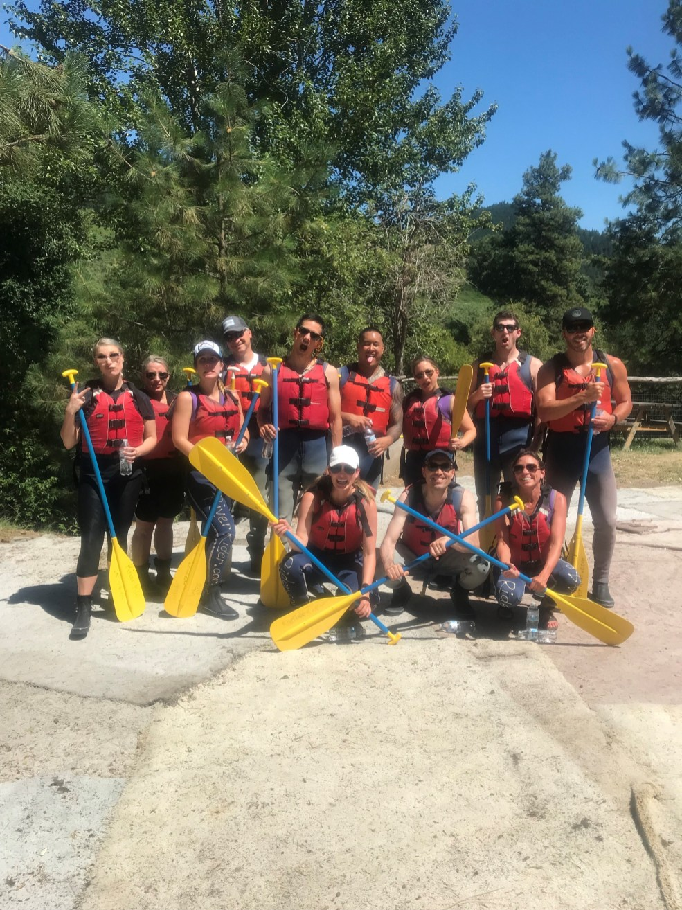 Spectrum 10 Year Anniversary Rafting Trip July 2018