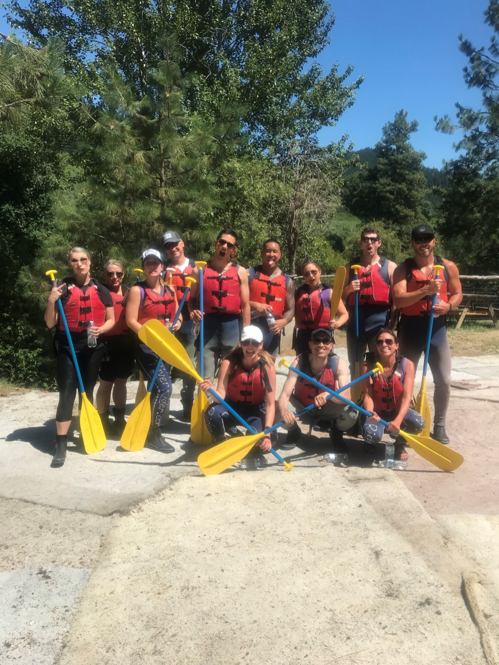 Spectrum 10 Year Anniversary Rafting Trip July 2018